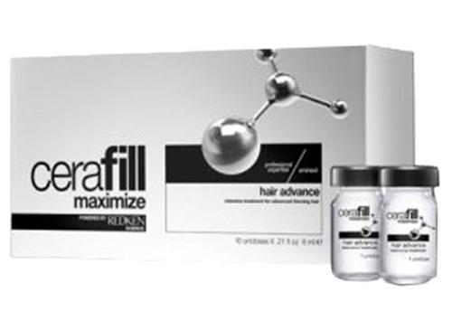 REDKEN Ампулы двойного действия против истончения волос с Аминексил и Omega 6 / Cerafill 10х6мл