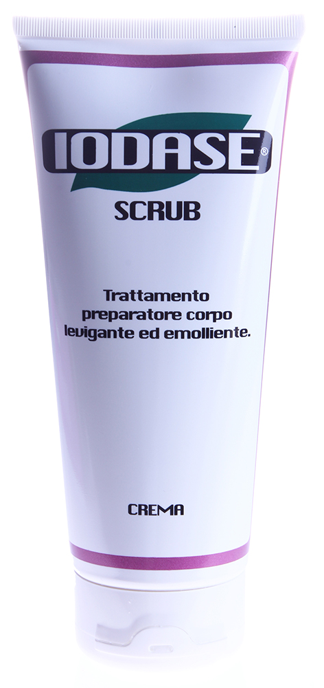 IODASE Крем-скраб для тела / Scrub 200 мл~Скрабы<br>Крем-скраб для тела Iodase Scrub &amp;ndash; это разработка лучших специалистов итальянской компании IODASE (Natural Project). Этот крем-скраб великолепно смягчает и полирует кожу, являясь подготовительным этапом к дальнейшим косметическим процедурам. Богатый натуральными природными компонентами крем-скраб Iodase Scrub уже после первых применений делает кожу более увлажненной, мягкой и гладкой. Данное средство применяют для усиления результатов косметических процедур, для избавления от кожного шелушения и перед принятием солнечных ванн. Наносится скраб на сухую кожу (до включения воды), хорошо втирается в кожу. Затем нужно дать скрабу подсохнуть и смыть водой без применения гелей для душа. Вы сразу почувствуете, как изменилось качество вашей кожи, какой мягкой она стала.  С крем-скрабом Iodase Scrub от IODASE (Natural Project) вы очистите свою кожу от ороговевших частиц, придадите ей необходимую увлажненность, мягкость и гладкость.  Активные ингредиенты: Экстракт морских водорослей, экстракт ананаса, масло каритэ, масло жожоба, масло абрикоса.  Способ применения: Во время принятия душа массирующими движениями нанесите крем-скраб Iodase Scrub от Натурал Проджект на кожу тела. Оставьте на несколько минут, затем смойте водой.<br>