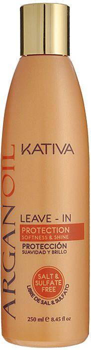 Купить KATIVA Концентрат несмываемый оживляющий с маслом арганы для волос / ARGANA 250 мл