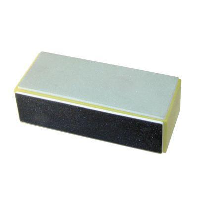 YOKO Блок полировщик с пропиткой, желтый***Пилки для ногтей<br>Блок 400/600/3000 цвет: желтый<br>