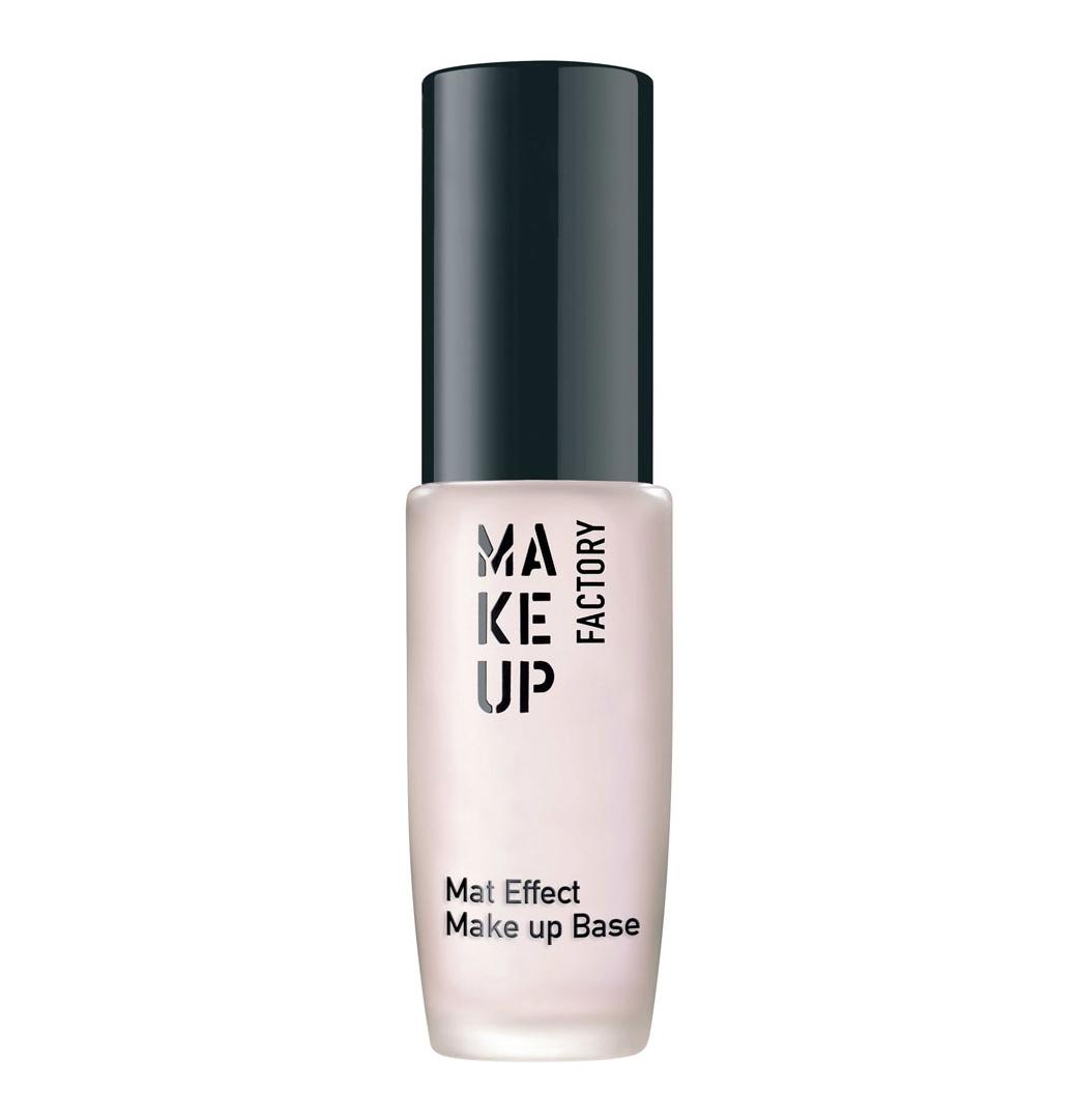 MAKE UP FACTORY Основа под макияж, 01 полупрозрачный розовый / Mat Effect Make Up Base 15 мл