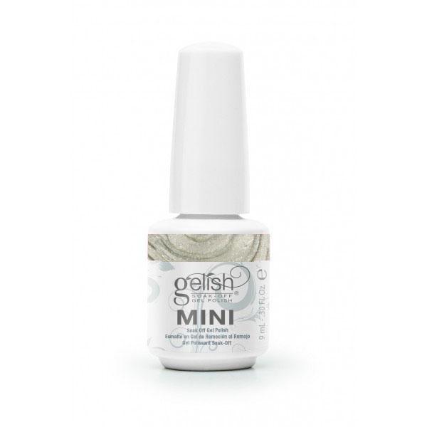 GELISH Гель-лак Night Shimmer / GELISH MINI 9млГель-лаки<br>Гель-лак Gelish Mini наносится на ноготь как лак, с помощью кисточки под колпачком. Процедура нанесения схожа с нанесением обычного цветного покрытия. Все гель-лаки Harmony Gelish Mini выполняют функцию еще и укрепляющего геля, делая ногти более прочными и длинными. Ногти клиента находятся под защитой гель-лака, они не ломаются и не расслаиваются. Гель-лаки Gelish Mini после сушки в LED или УФ лампах держатся на натуральных ногтях рук до 3 недель, а на ногтях ног до 5 недель. Способ применения: Подготовительный этап. Для начала нужно сделать маникюр. В зависимости от ваших предпочтений это может быть европейский, классический обрезной, СПА или аппаратный маникюр. Главное, сдвинуть кутикулу с ногтевого ложа и удалить ороговевшие участки кожи вокруг ногтей. Особенностью этой системы является то, что перед нанесением базового слоя необходимо обработать ноготь шлифовочным бафом Harmony Buffer 100/180 грит, для того, чтобы снять глянец. Это поможет улучшить сцепку покрытия с ногтем. Пыль, которая осталась после опила, излишки жира и влаги удаляются с помощью обезжиривателя Gelish MINI Ph Bond или любого другого дегитратора. Нанесение искусственного покрытия Harmony.&amp;nbsp; После того, как подготовительные процедуры завершены, можно приступать непосредственно к нанесению искусственного покрытия Harmony Gelish. Как и все гелевые лаки, продукцию этого бренда необходимо полимеризовать в лампе. Гель-лаки Gelish Mini сохнут (полимеризуются) под LED или УФ лампой. Время полимеризации: В LED лампе 18G/6G = 30 секунд В LED лампе Gelish Mini Pro = 45 секунд В УФ лампах 36 Вт = 120 секунд В УФ лампе Harmony Mini Portable UV Light = 180 секунд ПРИМЕЧАНИЕ: подвергать полимеризации необходимо каждый слой гель-лакового покрытия! 1)Первым наносится тонкий слой базового покрытия Gelish MINI Foundation Soak Off Base Gel 9 мл. 2)Следующий шаг   нанесение цветного гель-лака Harmony Gelish Mini.&amp;nbsp; 3)Заключительный этап На