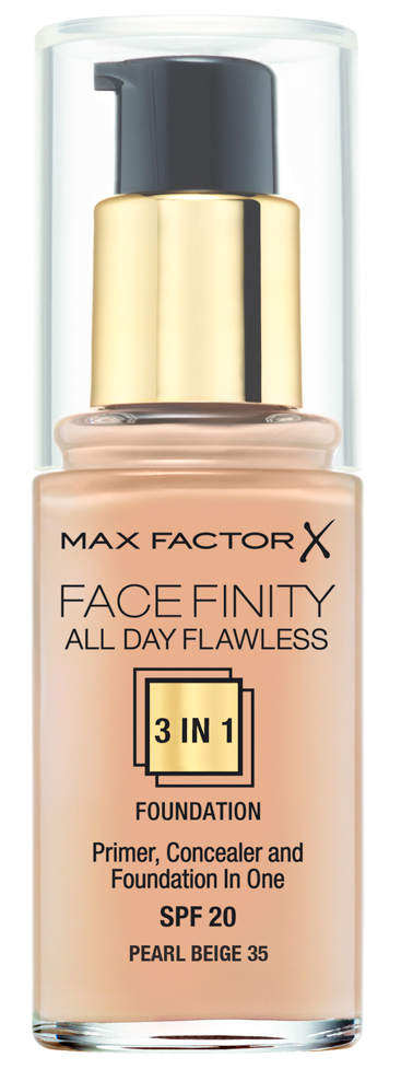 Купить MAX FACTOR Основа тональная 35 / Facefinity All Day Flawless 3-in-1 pearl beige