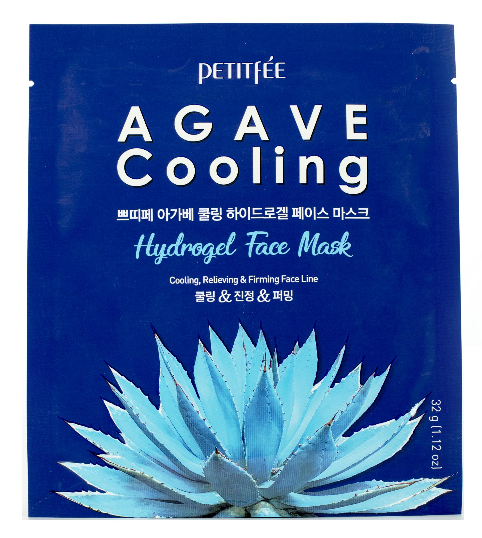 PETITFEE Маска гидрогелевая с охлаждающим эффектом для лица 32 г  - Купить