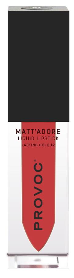 Купить PROVOC Помада жидкая матовая для губ 18 / MATTADORE Liquid Lipstick Energy 5 г
