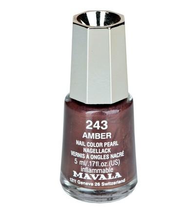 "MAVALA Лак для ногтей мини ""Янтарь"" тон 243 / Amber 5мл"