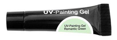 CND Гель-краска УФ / OH UV-Painting Gel Romantic Green 5мл хондроитин 5% 30г гель