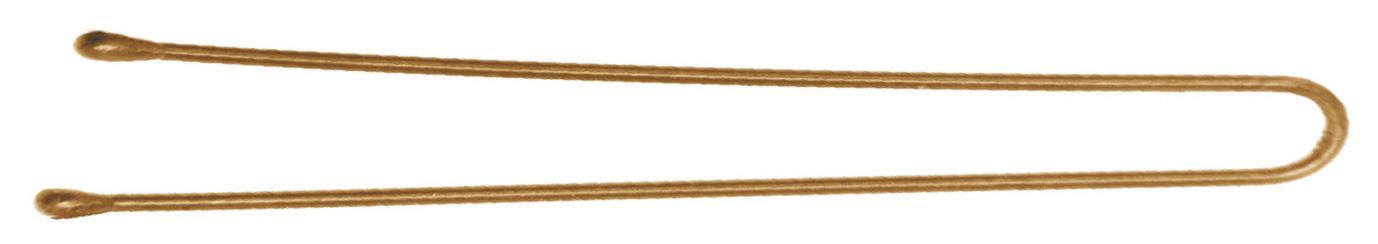 DEWAL PROFESSIONAL Шпильки золотистые, прямые 70 мм, 200 г (в коробке)