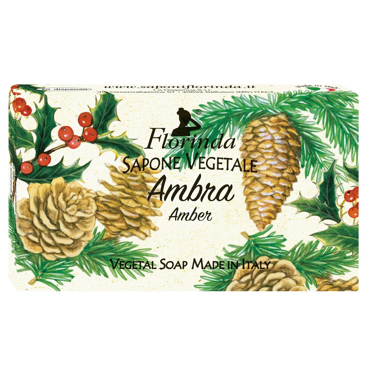 Купить FLORINDA Мыло растительное, амбра / Ambra 100 г