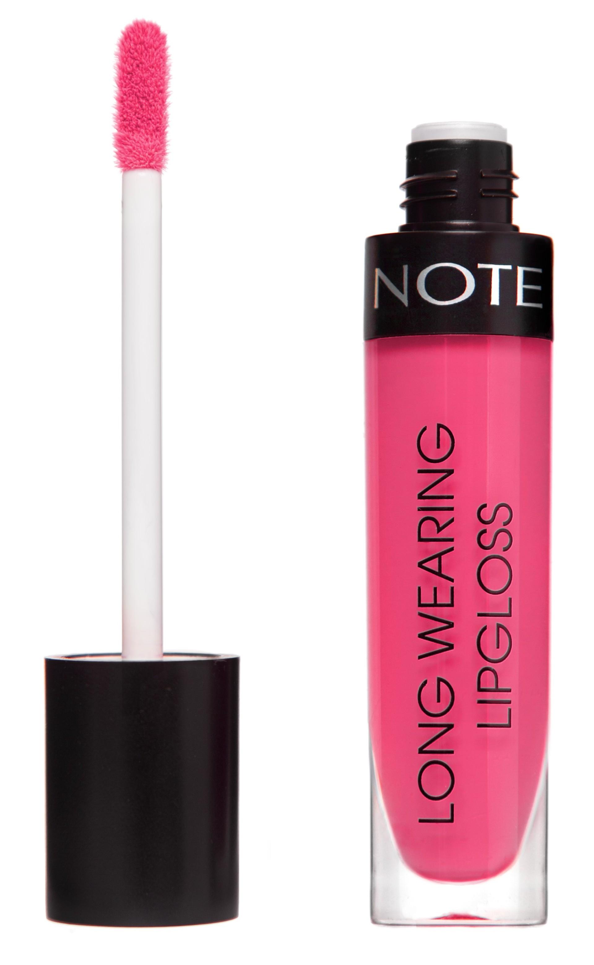 Купить NOTE Cosmetics Блеск стойкий для губ 13 / LONG WEARING LIPGLOSS 6 мл