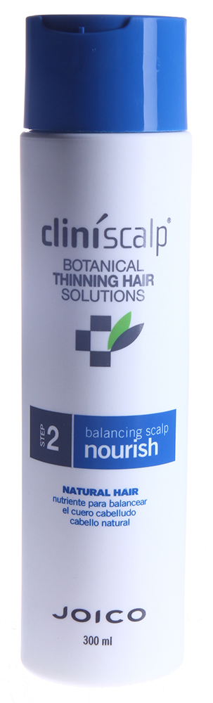 JOICO Кондиционер питательный для натуральных волос / Balancing Scalp Nourish NH 300млКондиционеры<br>Шаг 2 - СИСТЕМА УХОДА ДЛЯ НАТУРАЛЬНЫХ ВОЛОС Кондиционер активно питает волосы и кожу головы, восстанавливает их жизненный баланс, защищает от негативных факторов окружающей среды. Создает оптимальные условия для роста здоровых, плотных волос. Активные ингредиенты: масло подсолнечника, масло розмарина и экстракт плюща глубоко увлажняют волосы и кожу головы, а также защищают их от агрессивного воздействия внешней среды. Женьшень и хмелевые шишки питают и улучшают состояние кожи головы. Масло листьев перечной мяты создает оптимальные условия для роста здоровых волос. Способ применения: используйте после 1 шага. Нанесите на мокрые волосы, оставьте для воздействия на 1-3 минуты, тщательно смойте. Для достижения наилучших результатов завершите уход с помощью Стимулятора роста для редеющих волос или Cтимулятора роста интенсивного для заметно редеющих волос.<br><br>Вид средства для волос: Питательный<br>Назначение: Выпадение