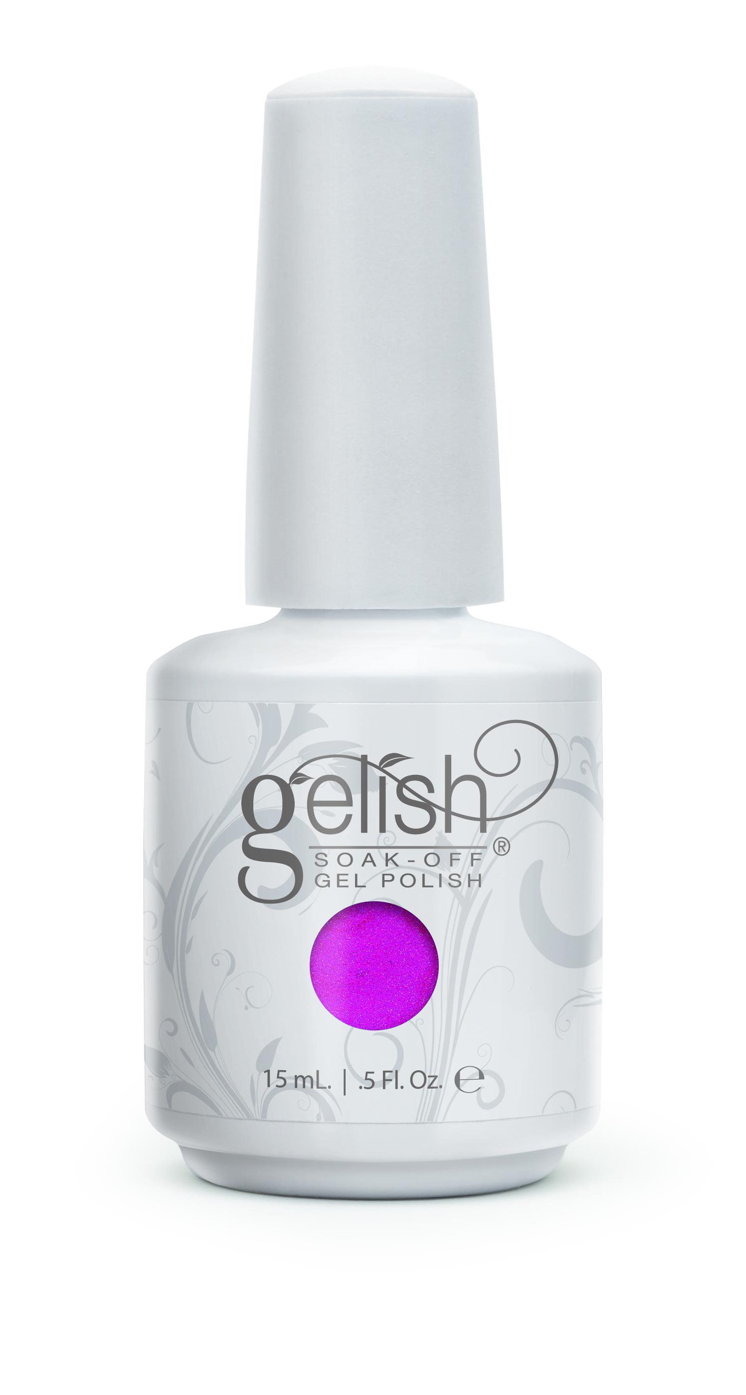 GELISH Гель-лак Kung Fu-Chsia / GELISH 15млГель-лаки<br>Гель-лак Gelish наносится на ноготь как лак, с помощью кисточки под колпачком. Процедура нанесения схожа с&amp;nbsp;нанесением обычного цветного покрытия. Все гель-лаки Harmony Gelish выполняют функцию еще и укрепляющего геля, делая ногти более прочными и длинными. Ногти клиента находятся под защитой гель-лака, они не ломаются и не расслаиваются. Гель-лаки Gelish после сушки в LED или УФ лампах держатся на натуральных ногтях рук до 3 недель, а на ногтях ног до 5 недель. Способ применения: Подготовительный этап. Для начала нужно сделать маникюр. В зависимости от ваших предпочтений это может быть европейский, классический обрезной, СПА или аппаратный маникюр. Главное, сдвинуть кутикулу с ногтевого ложа и удалить ороговевшие участки кожи вокруг ногтей. Особенностью этой системы является то, что перед нанесением базового слоя необходимо обработать ноготь шлифовочным бафом Harmony Buffer 100/180 грит, для того, чтобы снять глянец. Это поможет улучшить сцепку покрытия с ногтем. Пыль, которая осталась после опила, излишки жира и влаги удаляются с помощью обезжиривателя Бондер / GELISH pH Bond 15&amp;nbsp;мл или любого другого дегитратора. Нанесение искусственного покрытия Harmony.&amp;nbsp; После того, как подготовительные процедуры завершены, можно приступать непосредственно к нанесению искусственного покрытия Harmony Gelish. Как и все гелевые лаки, продукцию этого бренда необходимо полимеризовать в лампе. Гель-лаки Gelish сохнут (полимеризуются) под LED или УФ лампой. Время полимеризации: В LED лампе 18G/6G = 30 секунд В LED лампе Gelish Mini Pro = 45 секунд В УФ лампах 36 Вт = 120 секунд В УФ лампе Harmony Mini Portable UV Light = 180 секунд ПРИМЕЧАНИЕ: подвергать полимеризации необходимо каждый слой гель-лакового покрытия! 1)Первым наносится тонкий слой базового покрытия Gelish Foundation Soak Off Base Gel 15 мл. 2)Следующий шаг   нанесение цветного гель-лака Harmony Gelish.&amp;nbsp; 3)Заключительный этап Нанесен