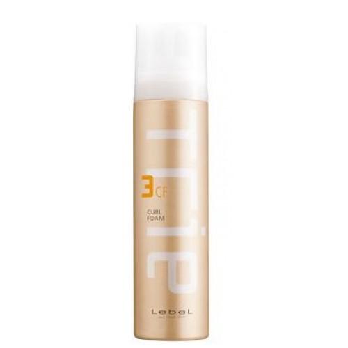 LEBEL Пена для укладки / Trie CURL FOAM 3 200грПенки<br>Пена предназначена для создания воздушных, пластичных локонов.  Подчёркивает и структурирует завиток.  Глубоко увлажняет и питает волосы.  Защищает волосы от агрессивных факторов окружающей среды и термического воздействия. Препятствует впитыванию посторонних запахов.  Нейтрализует свободные радикалы.  Аромат: Framboise - малина и La France - груша. SPF 15.  Способ применения: Нанести небольшое количество пены на влажные волосы. Приступить к укладке.<br><br>Типы волос: Кудрявые