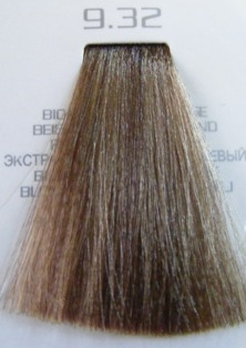 Hair company 9.32 краска для волос / hair light crema colorante 100 мл