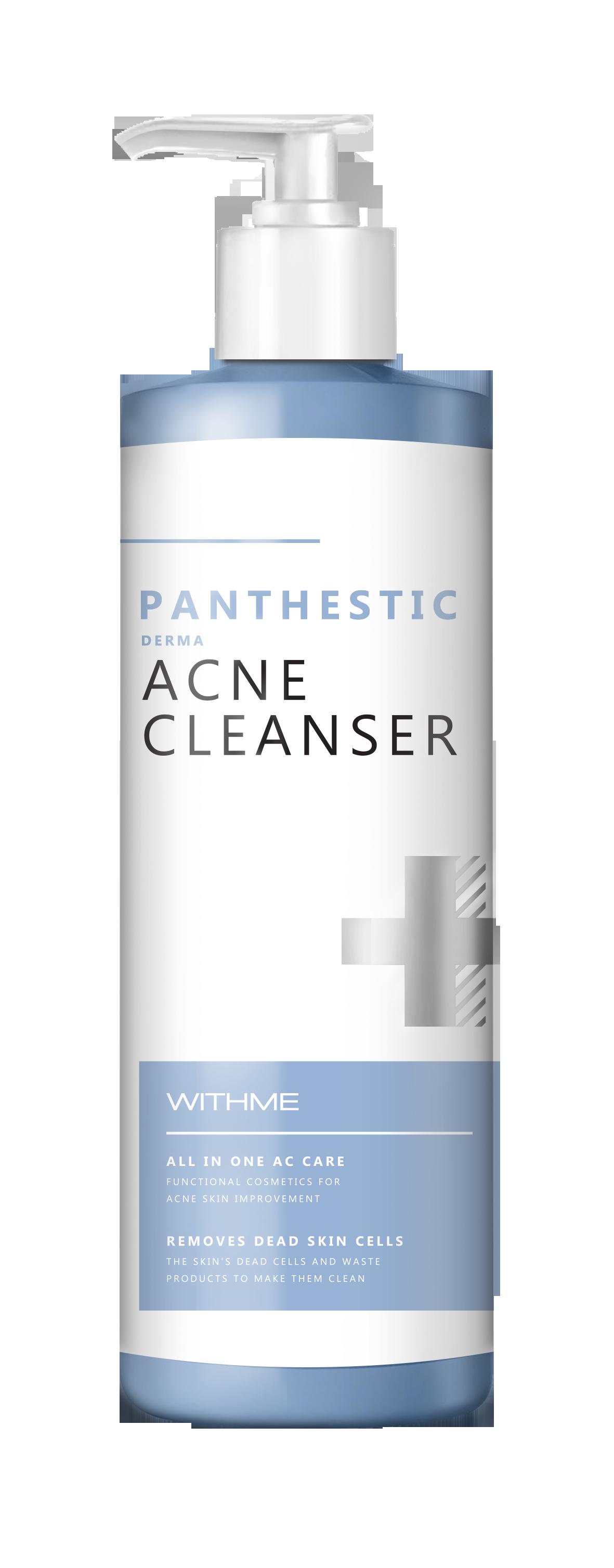 Купить EVAS Гель очищающий для проблемной кожи лица / WITHME Panthestic Derma Acne Cleanser 500 мл