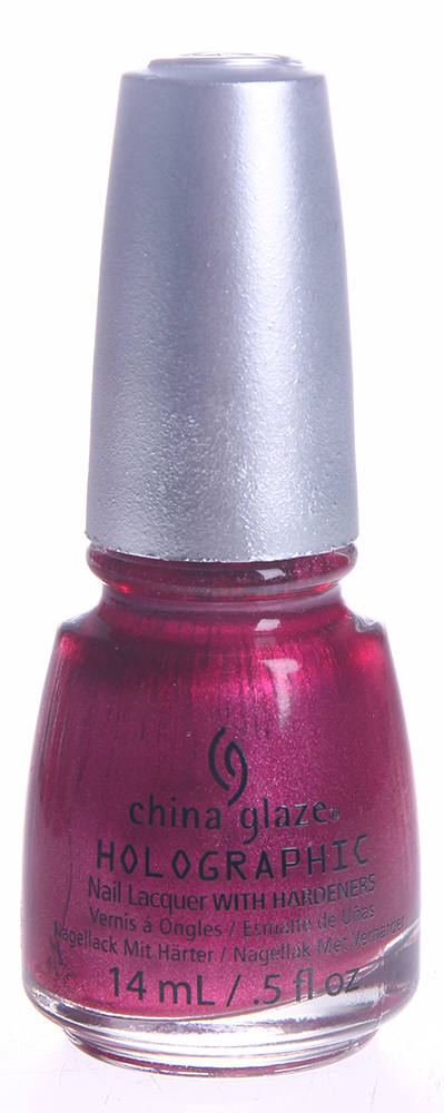 "CHINA GLAZE ��� ��� ������ ""������������"" / Infra-Red Nail Lacquer HOLOGLAM 14��"
