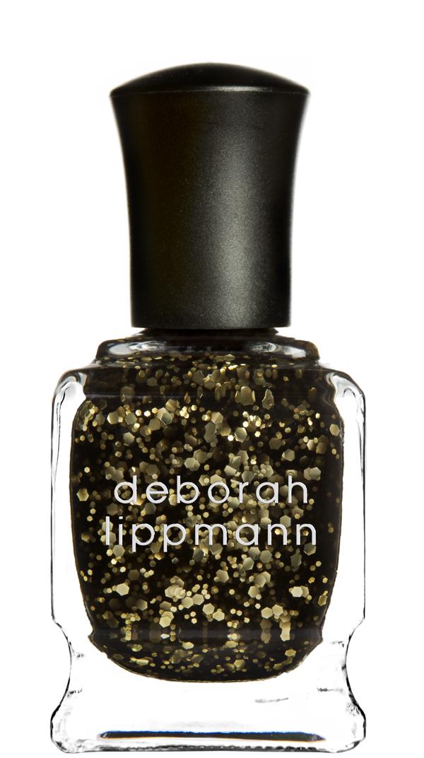 DEBORAH LIPPMANN Лак для ногтей Cleopatra in New York 15млЛаки<br>Золотой глиттер в черной основе<br><br>Цвет: Черные<br>Виды лака: С блестками