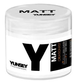 YUNSEY PROFESSIONAL Воск матовый для волос  MATT  / CREATIONYST MATT 100mlВоски<br>Создает текстуру. Максимальная фиксация. Идеален для коротких волос. Способ применения:&amp;nbsp; нанесите небольшое количество средства на ладони и разотрите, затем нанесите на сухие волосы для достижения желаемого эффекта.<br><br>Объем: 100 мл