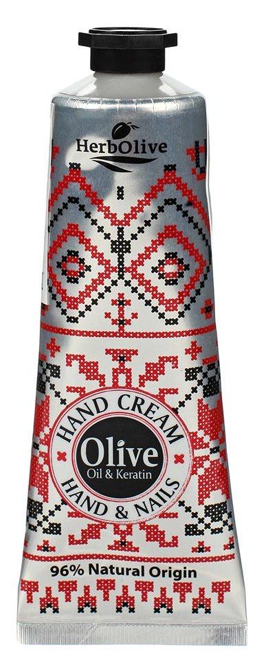 MADIS Крем премиум с оливковым маслом и кератином для рук / HerbOlive 75 мл