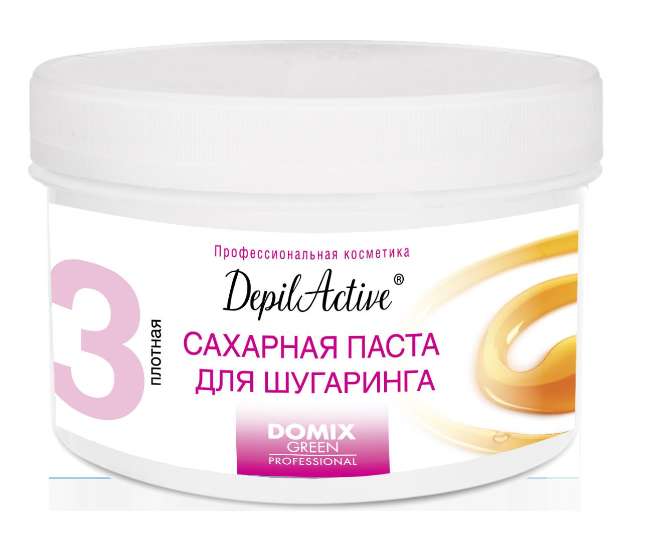 DOMIX Паста сахарная плотная для шугаринга / DepilActive DGP 650 г