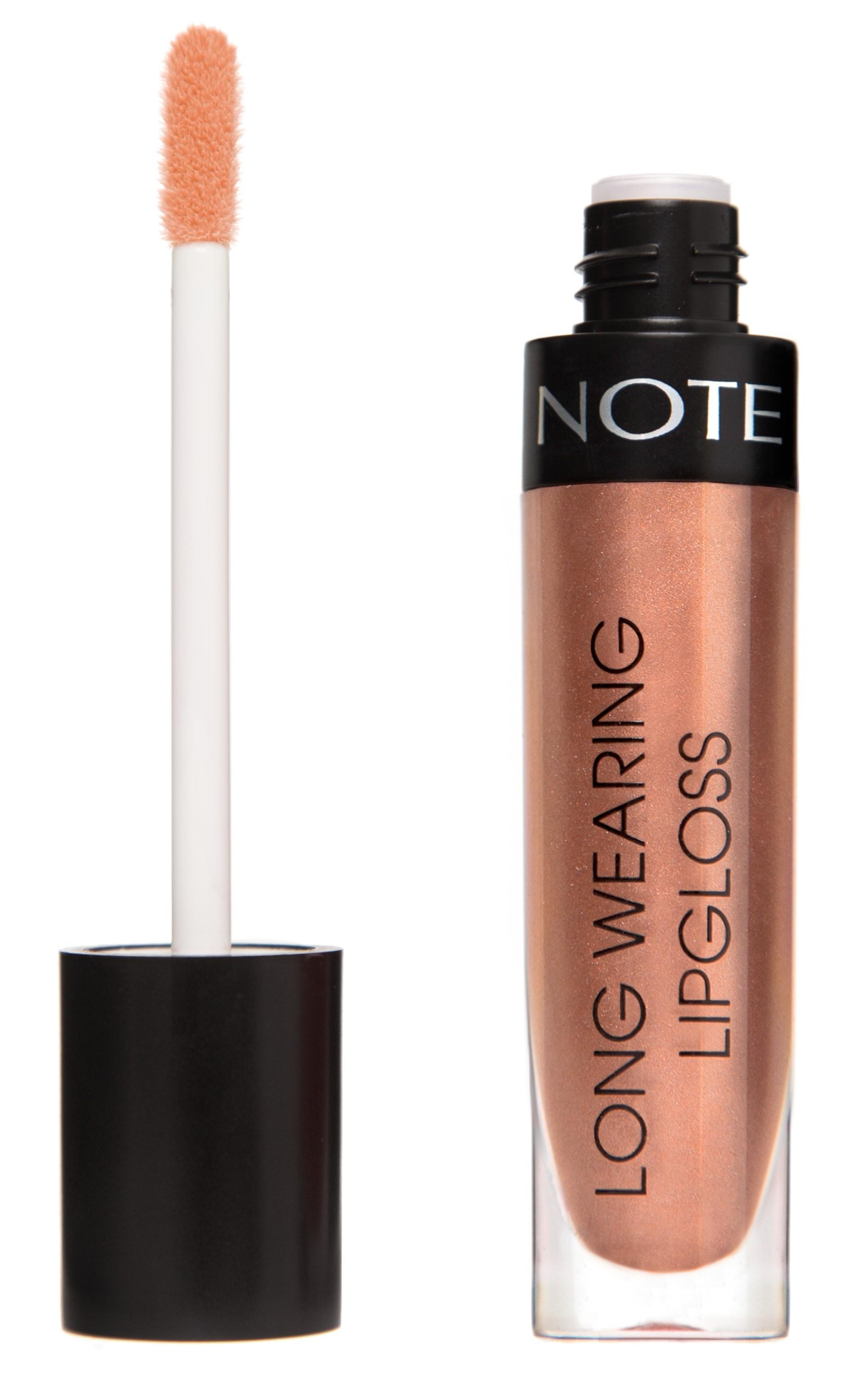 NOTE Cosmetics Блеск стойкий для губ 22 / LONG WEARING LIPGLOSS 6 мл  - Купить