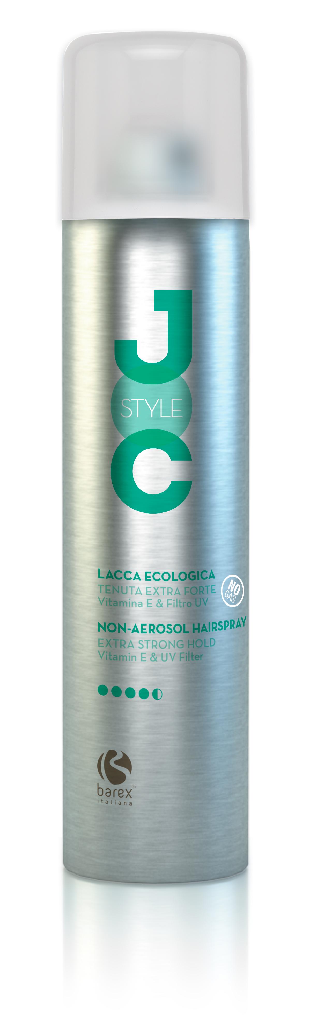 BAREX Лак-эко без газа экстра сильной фиксации с витамином Е / JOC STYLE 300мл