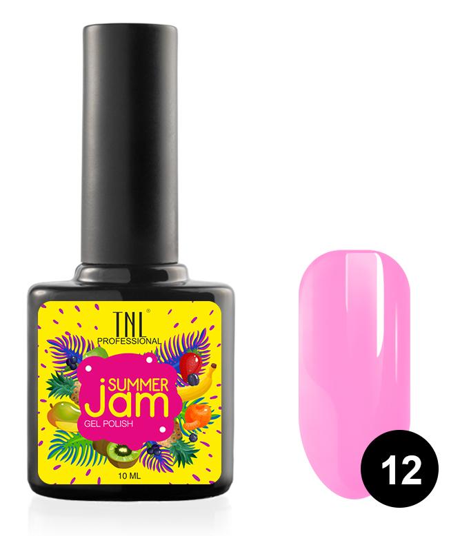 Купить TNL PROFESSIONAL 12 гель-лак для ногтей, лиловый / Summer Jam 10 мл, Розовые