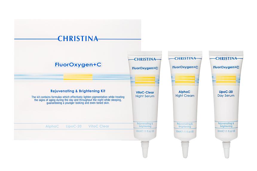 CHRISTINA Набор для домашнего использования (3 препарата) / Retail Kit FLUOROXYGEN+C