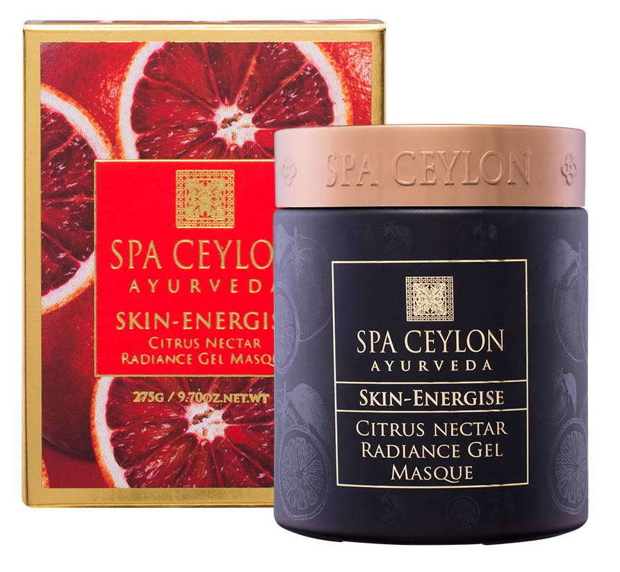Купить SPA CEYLON Маска цитрусовая гелевая для сияния кожи Счастливая кожа 275 мл