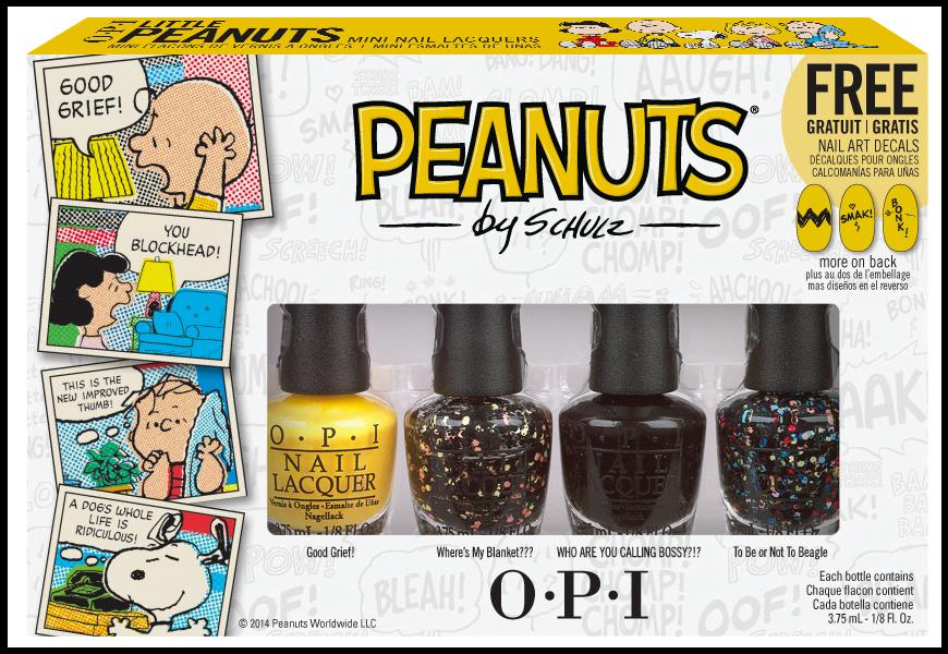 OPI Набор мини лаки Peanuts Halloween'14