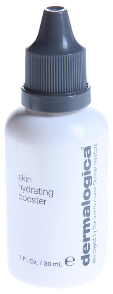 DERMALOGICA Усилитель увлажнения / Skin Hydrating Booster 30млЛосьоны<br>Усилитель увлажнения Skin Hydrating Booster помогает дегидратированной коже восполнить недостаток влаги, оживляет сухую и поврежденную кожу. Крем содержит гиалуроновую кислоту, которая увлажняет кожу и повышает ее эластичность, пантенол, обладающий заживляющим действием и экстракт водорослей, который регулирует баланс увлажненности кожи. Благодаря своей текстуре крем легко впитывается.&amp;nbsp; Активные ингредиенты: Гиалуроновая кислота, пантенол, экстракт водорослей, гликопепиды.&amp;nbsp; Способ применения: Нанесите небольшое количество средства на чистую кожу после применения тонера, затем нанесите увлажнитель. Для наилучшего результата используйте ежедневно.<br>