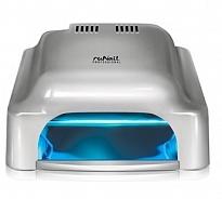 RuNail Лампа-УФ 36 ВТ RU 912, серебряная, таймер 60, 120, 180 с, бесконечность - Оборудование для маникюра