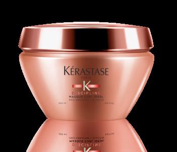 KERASTASE Маска для вьющихся волос / DISCIPLINE CURL IDEAL 200млМаски<br>Уменьшает пушистость и чрезмерный объем. Завиток очерчен, волосы эластичные. Активные ингредиенты: про-Кератин+Эластин: Разглаживает поверхность волос и позволяет добиться однородности волос. Придает волосам эластичность. Катионный полимер для разглаживания и смягчения волос. Способ применения: нанести на вымытые влажные волосы небольшое количество маски, отступая от корней не менее 2-3 см. и уделяя особое внимание волосам по длине и на кончиках.&amp;nbsp;Оставить для воздействия на 5 минут. Тщательно смыть. При попадании в глаза немедленно промыть водой.<br><br>Типы волос: Кудрявые