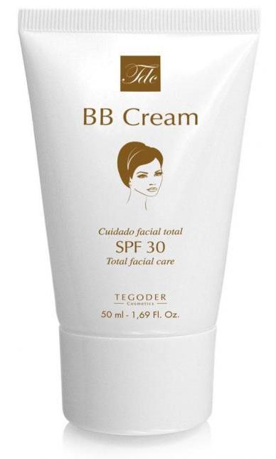 TEGOR Крем специальный для кожи лица SPF30 / BB Cream SUN 50млКремы<br>BB Cream SPF30 TEGOR является инновационной уникальной разработкой и относится к последнему поколению ВВ кремов. Преимущество BB Cream от бренда TEGOR в том, что он содержит ингредиенты натурального происхождения. Крем способствует активному увлажнению и регенерации кожи, содержит антиоксиданты необходимые для роста новых здоровых клеток, защищает от вредного воздействия окружающей среды и солнца, способствует выработке коллагена и эластина, повышая упругость кожи, питая и омолаживая ее. В состав крема входят микроинкапсулированные цветные пигменты для ровного естественного цвета кожи лица. Устраняет цветовые дефекты и выравнивает тон кожи, обладает расслабляющим, разглаживающим, увлажняющим, освежающим эффектом. Активные ингредиенты: микроинкапсулированные минеральные пигменты, экстракт Magnolia, витамин Е, витамин С, молекулярные экраны, гиалуроновая кислота, хондрус курчавый, пантенол, масло шиповника, витамин F, масло виноградных косточек, диоксид титана, алоэ барбаденис, экстракт центеллы азиатской. Способ применения: утром, на предварительно подготовленную кожу лица, нанести небольшое количество крема, легкими движениями разнести до полного впитывания.<br><br>Вид средства для лица: Увлажняющий