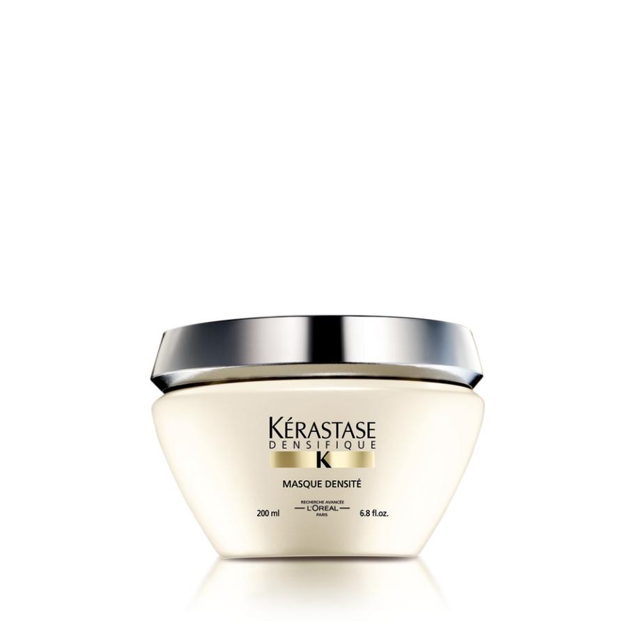 KERASTASE Маска восстанавливающая DENSITE / DENSIFIQUE 200млМаски<br>Восстанавливает и укрепляет структуру волос, делая их заметно более плотными и ухоженными. Stemoxydine  (Стемоксидин): активирует спящие волосяные фолликулы и повышает густоту волос. Гиалуроновая кислота: известна своими увлажняющими свойствами и является важным источником увлажнения кожи головы и волос. Gluco-Peptide (Глюко Пептиды): питание волосяного фолликула и стимулирование его активности + Керамид защищает и восстанавливает волосы. Активные ингредиенты: Stemoxydine  (Стемоксидин), гиалуроновая кислота, Gluco-Peptide (Глюко Пептиды), керамид. Способ применения: нанесите на вымытые, высушенные полотенцем волосы. Массажными движениями втирайте в волосы от корней до кончиков. Оставьте на 3 5 минут. Смойте.<br><br>Вид средства для волос: Восстанавливающий