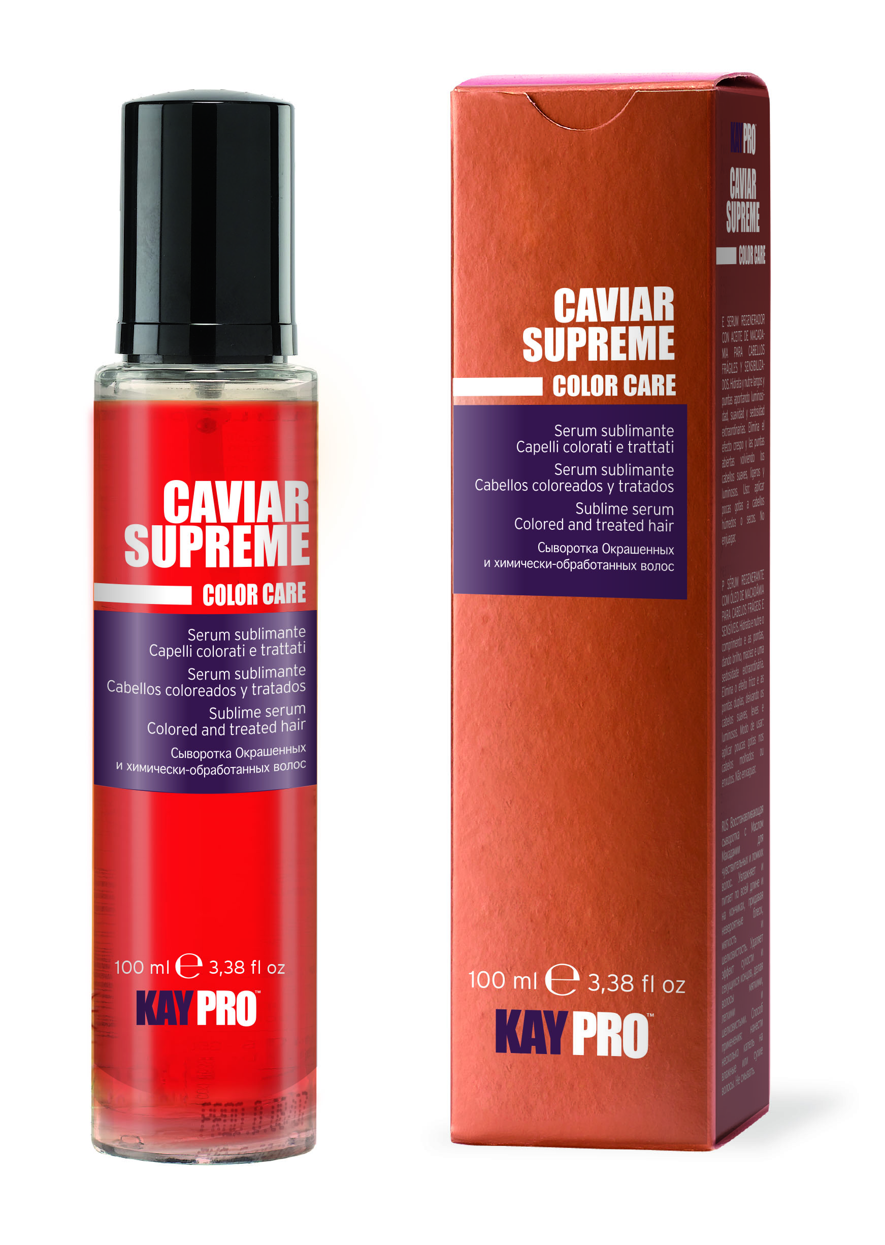 KAYPRO Сыворотка с икрой для окрашенных и химически-обработанных волос / KAYPRO 100мл