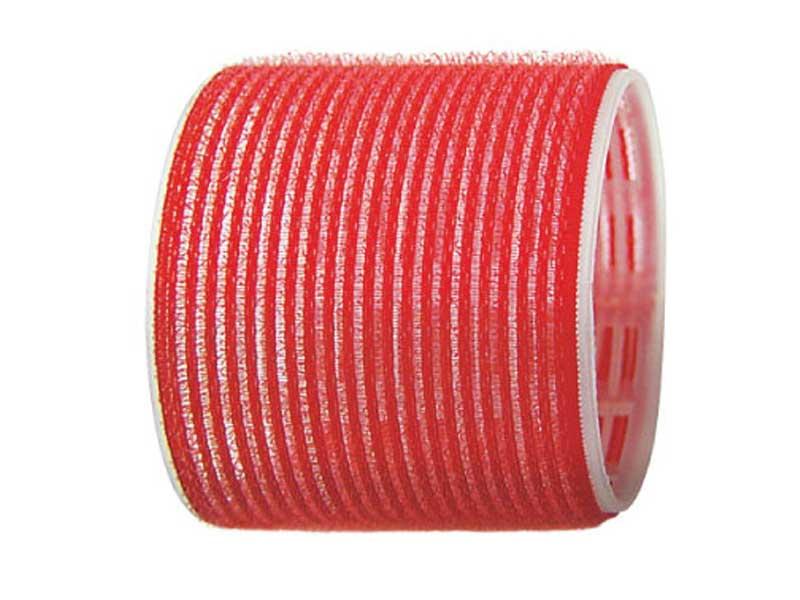 SIBEL Бигуди-лип.(10)S 70мм красн. 6шт/уп Sibel-Бигуди<br>Бигуди 70 мм красные с внешним слоем ворсистой ткани  липучка , 6 штук в упаковке. Бигуди на липучках дают возможность очень быстро нанести их на волосы благодаря наличию на них мелких ворсинок  липучек , они не закрепляются на волосах специальными приспособлениями, поэтому позволяют довести локон до самых корней волос не оставляя следов от зажимов и резинок.<br>