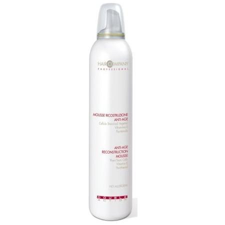 HAIR COMPANY Мусс восстанавливающий против старения волос / Anti-age Reconstruction Mousse DOUBLE ACTION 200мл~