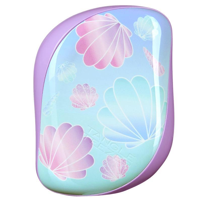 TANGLE TEEZER Расческа для волос / Compact Styler Seashells.