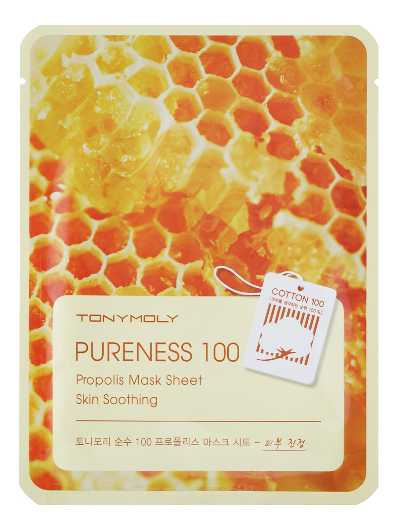 TONY MOLY Маска с прополисом для лица / Pureness 100 Propolis Mask Sheet 21 мл haitai b 600 digital high precision automatic constant tension controller for printing and textile