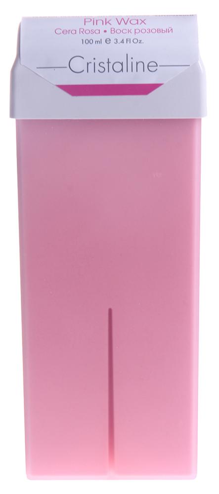 CRISTALINE Воск розовый в катридже 100мл