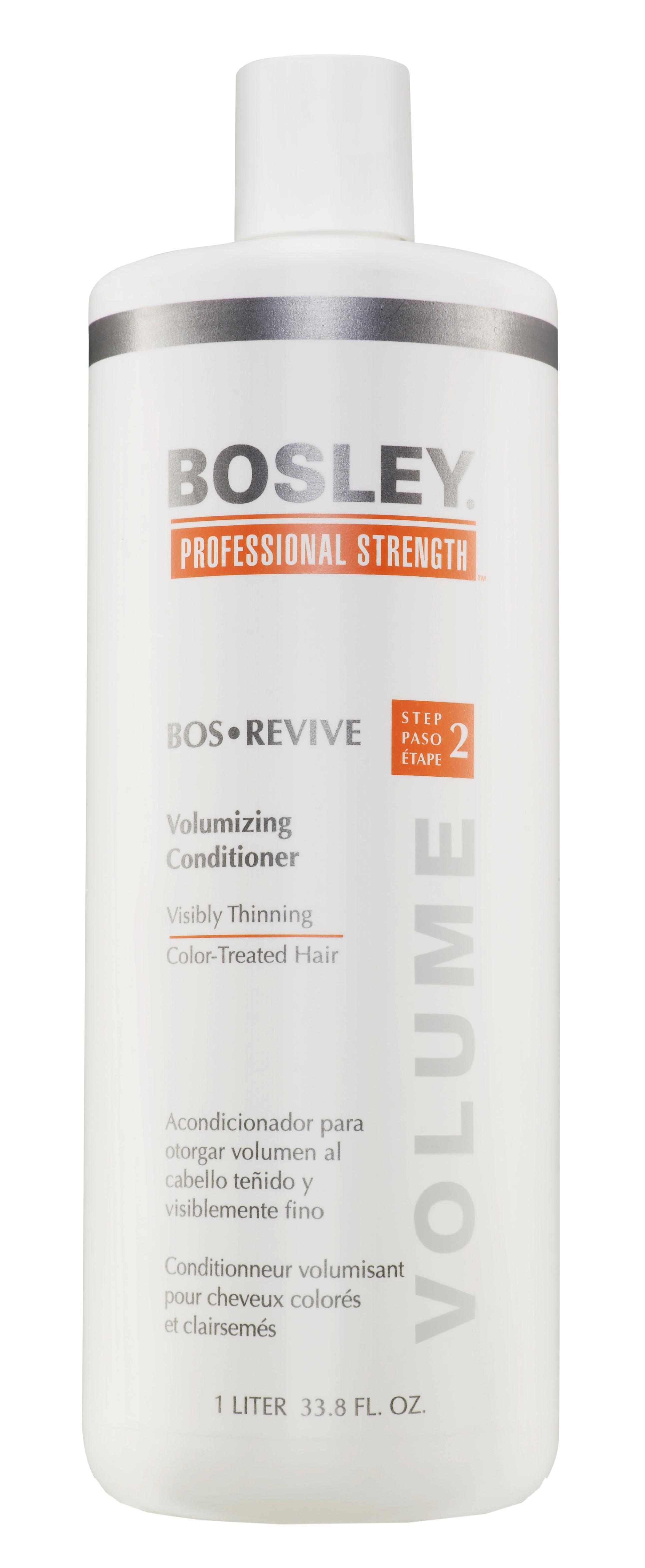 BOSLEY Кондиционер для объема истонченных окрашенных волос / ВОS REVIVE (step 2) 1000 мл