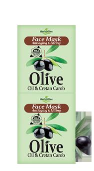 MADIS Маска-лифтинг для лица антивозрастная с рожковым деревом / HerbOlive 2*8 млМаски<br>Компоненты помогают сократить морщины и укрепляют кожу. Эффективно питает и придает свежесть и блеск. Активные ингредиенты: масло оливы и экстракт рожкового дерева. Способ применения: нанесите Маску на чистую кожу. Оставьте на 10-15 минут. Повторите 1-2 раза в неделю в зависимости от потребностей вашей кожи<br><br>Вид средства для лица: Антивозрастной<br>Назначение: Морщины