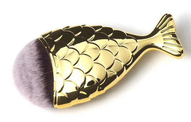 TNL PROFESSIONAL Кисть-рыбка золото M