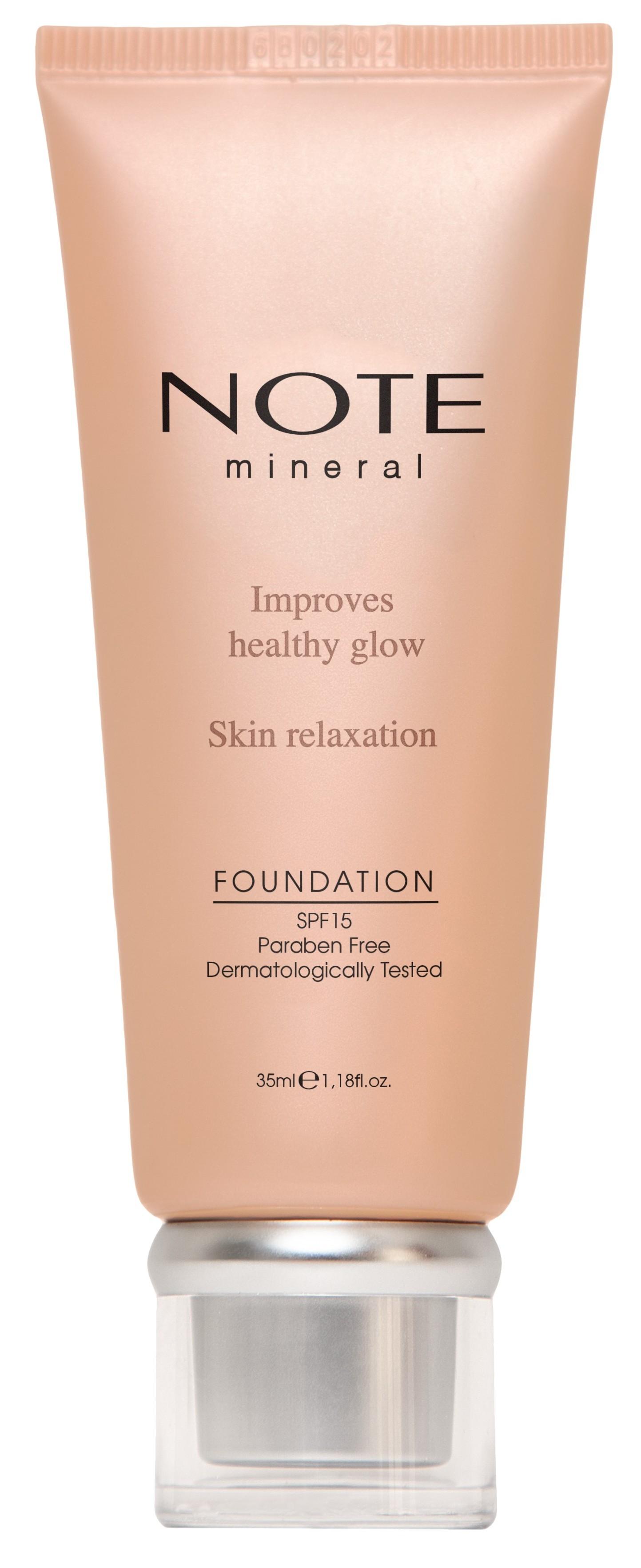 Купить NOTE Cosmetics Основа тональная минеральная для лица 402 / MINERAL FOUNDATION 35 мл