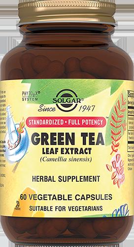 SOLGAR Экстракт листьев зеленого чая, капсулы № 60
