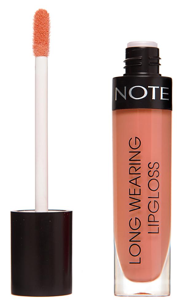 Купить NOTE Cosmetics Блеск стойкий для губ 04 / LONG WEARING LIPGLOSS 6 мл