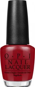 OPI Лак для ногтей NL- Romantically Involved / Fifty Shades of Grey - A 15млЛаки<br>Romantically Involved Романтическая связь - насыщенный красный.<br><br>Цвет: Красные<br>Виды лака: Глянцевые