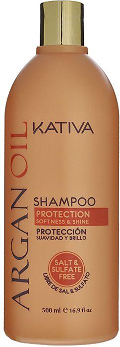 Купить KATIVA Шампунь увлажняющий с маслом арганы для волос / ARGANA 500 мл