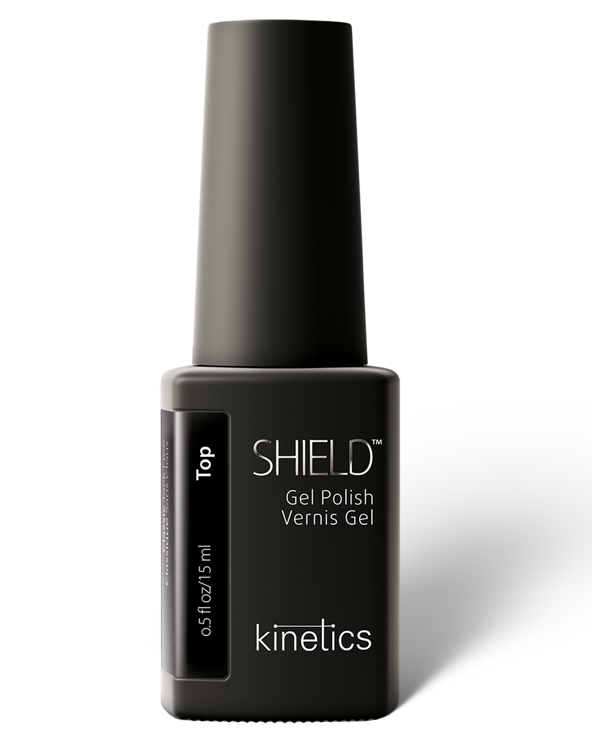 KINETICS Покрытие верхнее без липкого слоя / SHIELD Classic Top Coat Tack Free, 15 мл